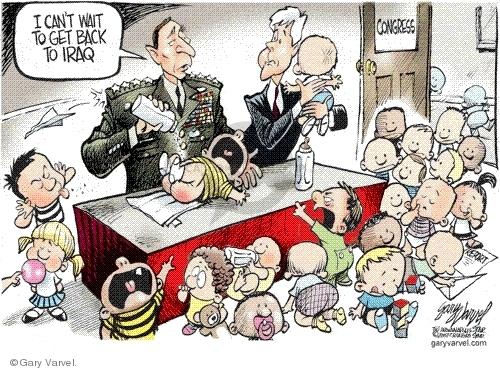 Cartoonist Gary Varvel  Gary Varvel's Editorial Cartoons 2007-09-12 Congress