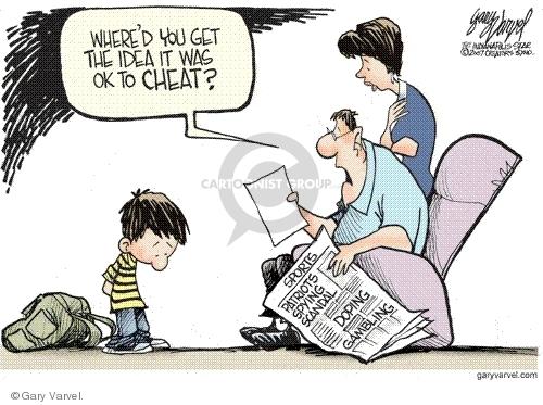 Gary Varvel  Gary Varvel's Editorial Cartoons 2007-09-14 new student