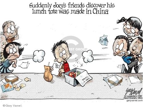 Cartoonist Gary Varvel  Gary Varvel's Editorial Cartoons 2007-09-23 box