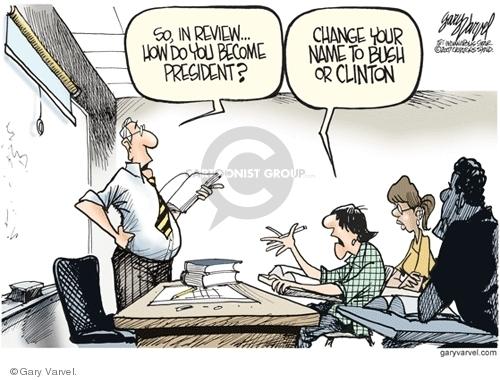 Cartoonist Gary Varvel  Gary Varvel's Editorial Cartoons 2007-09-29 name