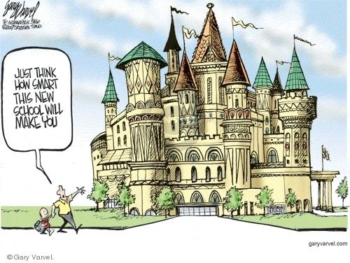 Cartoonist Gary Varvel  Gary Varvel's Editorial Cartoons 2007-10-07 construction