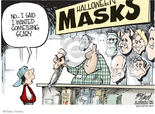 Cartoonist Gary Varvel  Gary Varvel's Editorial Cartoons 2007-10-29 fake
