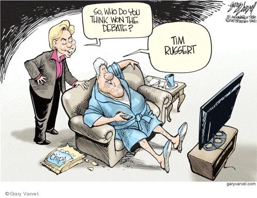 Gary Varvel  Gary Varvel's Editorial Cartoons 2007-11-03 media bias