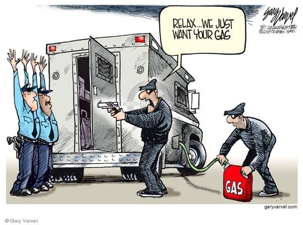 Cartoonist Gary Varvel  Gary Varvel's Editorial Cartoons 2007-11-15 economy