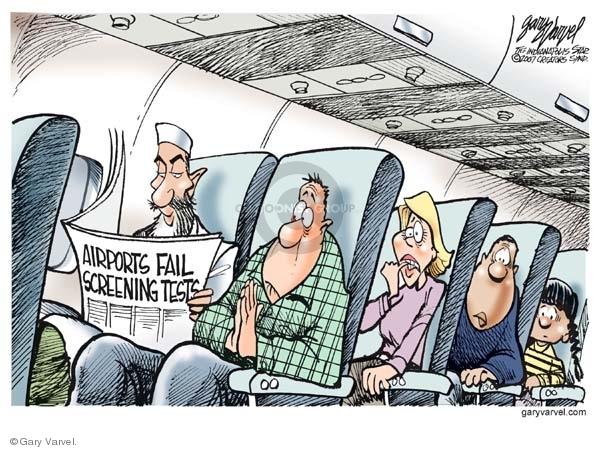 Gary Varvel  Gary Varvel's Editorial Cartoons 2007-11-16 safety