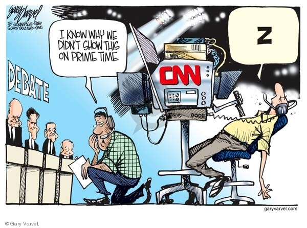 Cartoonist Gary Varvel  Gary Varvel's Editorial Cartoons 2007-12-13 cable news