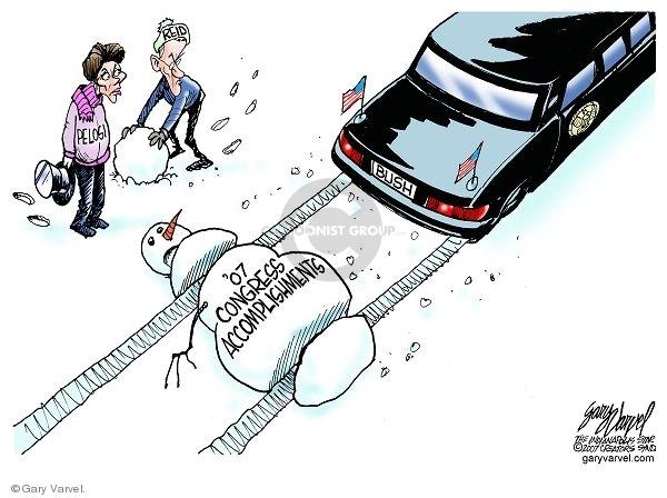 Cartoonist Gary Varvel  Gary Varvel's Editorial Cartoons 2007-12-21 house