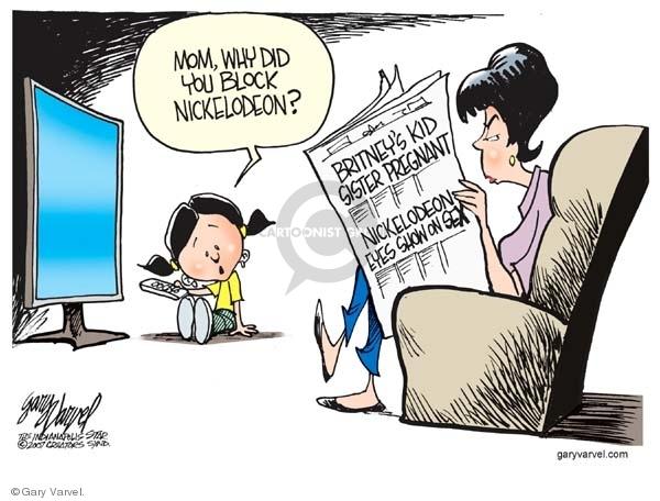 Gary Varvel  Gary Varvel's Editorial Cartoons 2007-12-22 sex