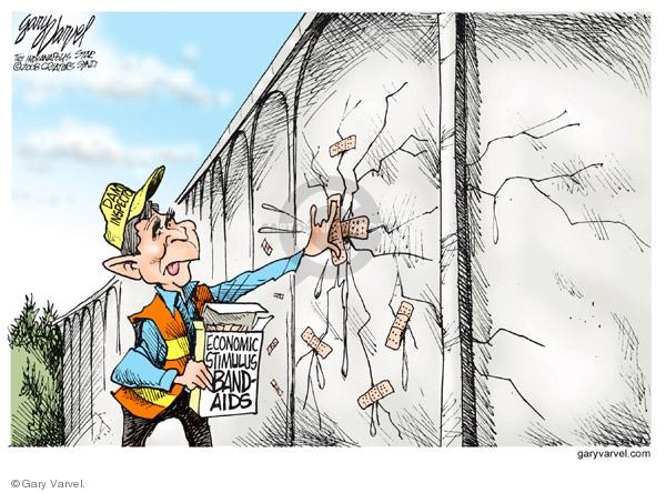 Gary Varvel  Gary Varvel's Editorial Cartoons 2008-01-22 policy