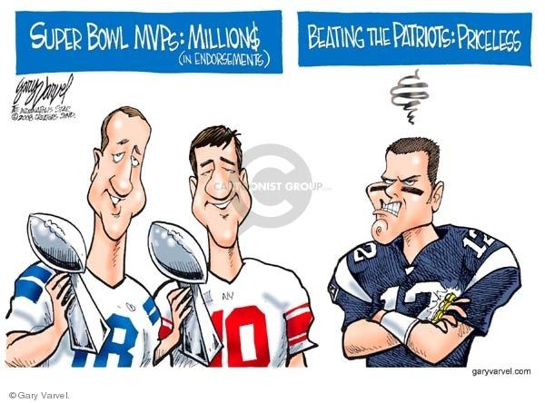 Cartoonist Gary Varvel  Gary Varvel's Editorial Cartoons 2008-02-05 Brady