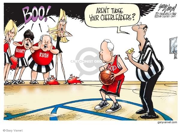 Cartoonist Gary Varvel  Gary Varvel's Editorial Cartoons 2008-02-14 GOP