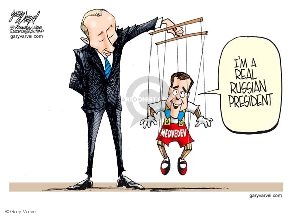 Gary Varvel  Gary Varvel's Editorial Cartoons 2008-03-05 Dmitry Medvedev