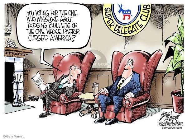 Gary Varvel  Gary Varvel's Editorial Cartoons 2008-03-27 voting rights