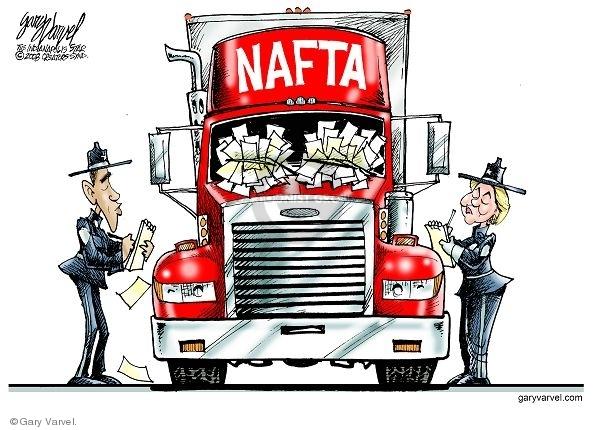 Gary Varvel  Gary Varvel's Editorial Cartoons 2008-03-29 trade agreement