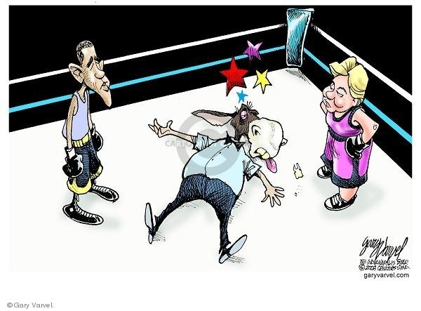 Cartoonist Gary Varvel  Gary Varvel's Editorial Cartoons 2008-03-29 ring