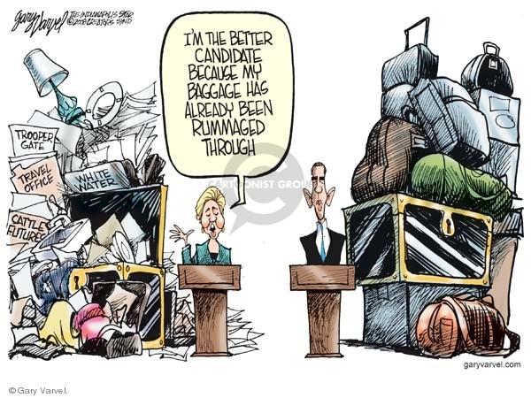 Cartoonist Gary Varvel  Gary Varvel's Editorial Cartoons 2008-04-18 investigation