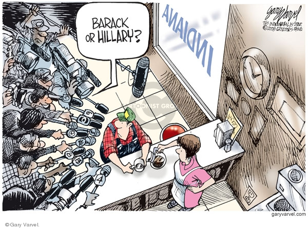 Cartoonist Gary Varvel  Gary Varvel's Editorial Cartoons 2008-04-23 network news