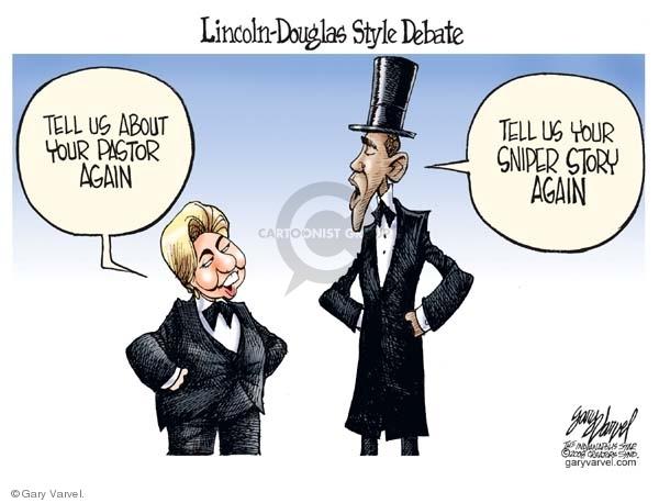 Cartoonist Gary Varvel  Gary Varvel's Editorial Cartoons 2008-04-29 infighting