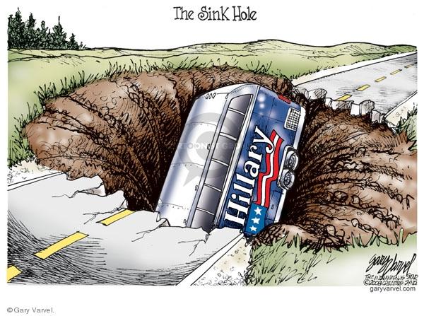 Gary Varvel  Gary Varvel's Editorial Cartoons 2008-05-12 bus