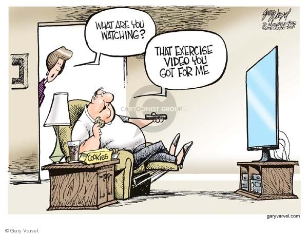 Gary Varvel  Gary Varvel's Editorial Cartoons 2008-06-02 diet