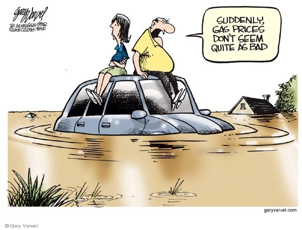 Cartoonist Gary Varvel  Gary Varvel's Editorial Cartoons 2008-06-10 weather