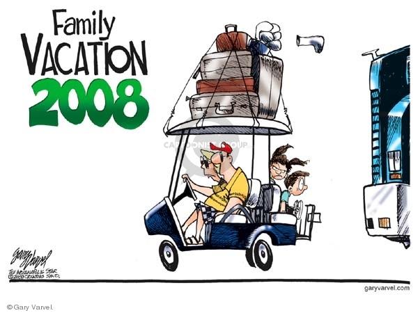 Cartoonist Gary Varvel  Gary Varvel's Editorial Cartoons 2008-06-24 vacation