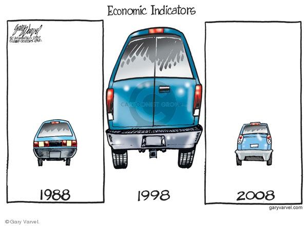 Cartoonist Gary Varvel  Gary Varvel's Editorial Cartoons 2008-07-06 economy