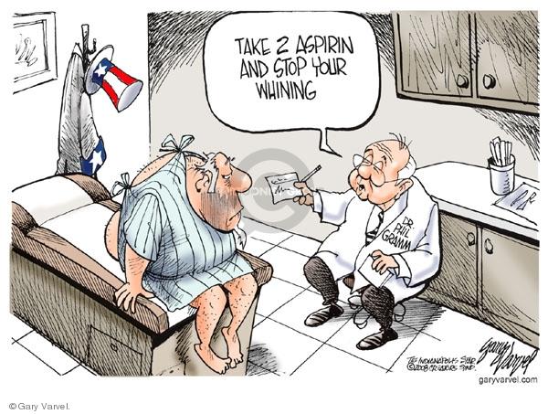 Gary Varvel  Gary Varvel's Editorial Cartoons 2008-07-14 prescription