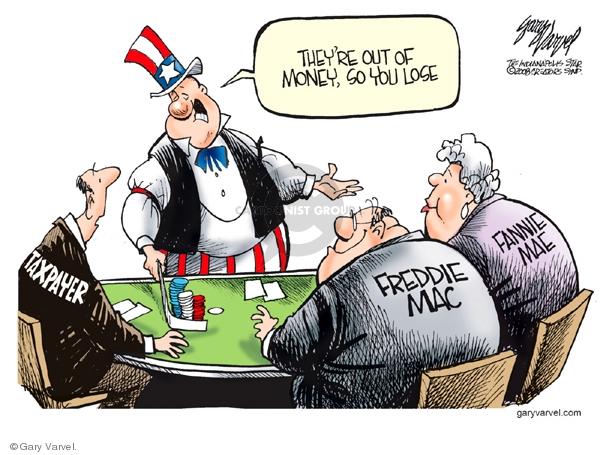 Cartoonist Gary Varvel  Gary Varvel's Editorial Cartoons 2008-07-15 economy