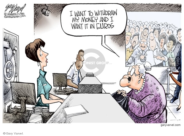 Cartoonist Gary Varvel  Gary Varvel's Editorial Cartoons 2008-07-16 dollar