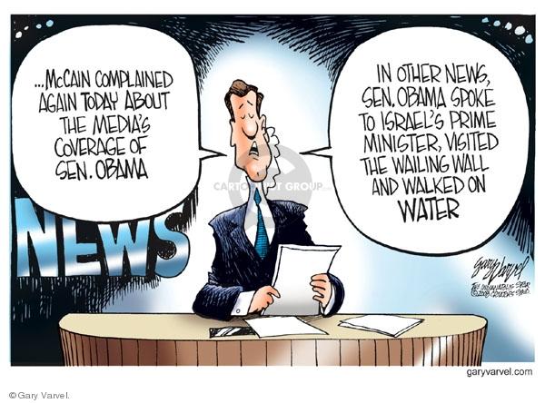 Cartoonist Gary Varvel  Gary Varvel's Editorial Cartoons 2008-07-25 Prime Minister