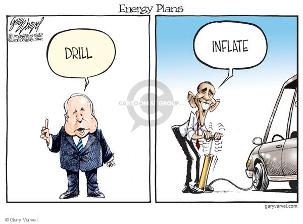 Cartoonist Gary Varvel  Gary Varvel's Editorial Cartoons 2008-08-01 Barack Obama