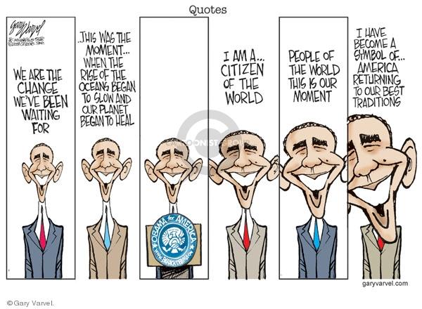 Cartoonist Gary Varvel  Gary Varvel's Editorial Cartoons 2008-08-04 Barack Obama