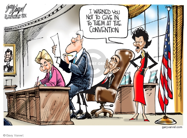 Cartoonist Gary Varvel  Gary Varvel's Editorial Cartoons 2008-08-17 Michelle Obama