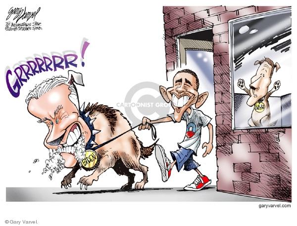 Cartoonist Gary Varvel  Gary Varvel's Editorial Cartoons 2008-08-26 Obama Biden