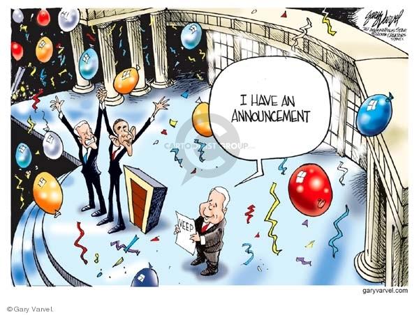 Cartoonist Gary Varvel  Gary Varvel's Editorial Cartoons 2008-08-29 Obama Biden