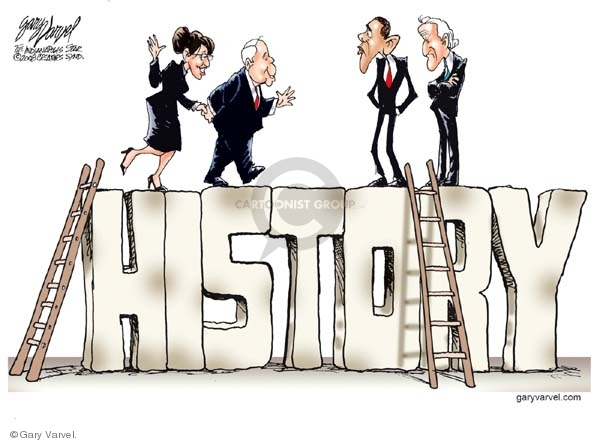 Gary Varvel  Gary Varvel's Editorial Cartoons 2008-09-02 Obama Biden