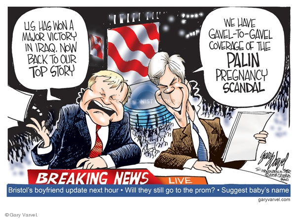Gary Varvel  Gary Varvel's Editorial Cartoons 2008-09-04 2008 political convention