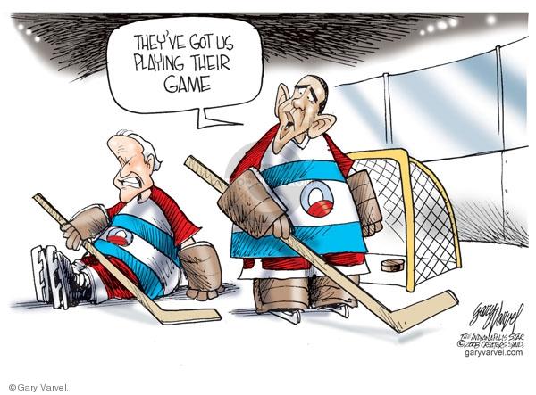 Cartoonist Gary Varvel  Gary Varvel's Editorial Cartoons 2008-09-08 Obama Biden