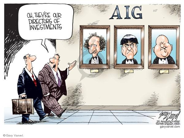 Gary Varvel  Gary Varvel's Editorial Cartoons 2008-09-18 stock market