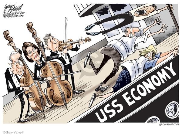 Cartoonist Gary Varvel  Gary Varvel's Editorial Cartoons 2008-09-30 economy