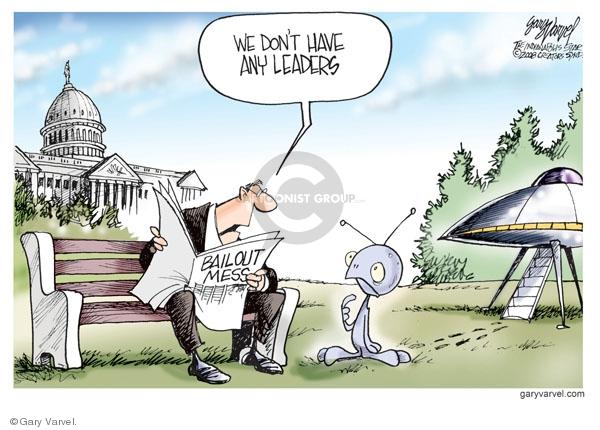 Gary Varvel  Gary Varvel's Editorial Cartoons 2008-10-03 stock market