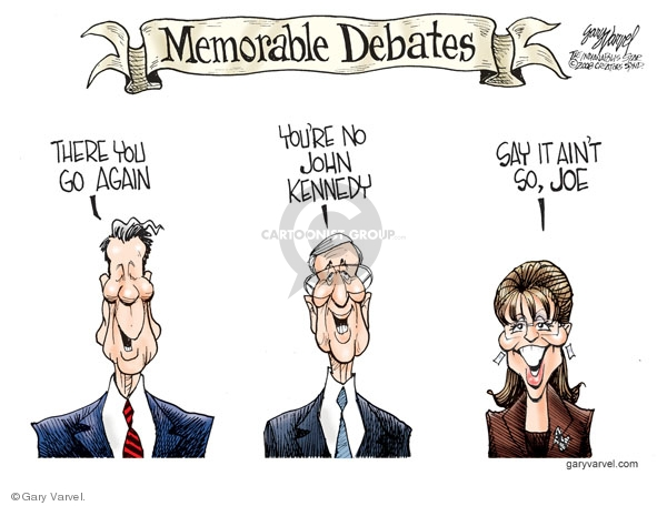 Gary Varvel  Gary Varvel's Editorial Cartoons 2008-10-05 2008 debate
