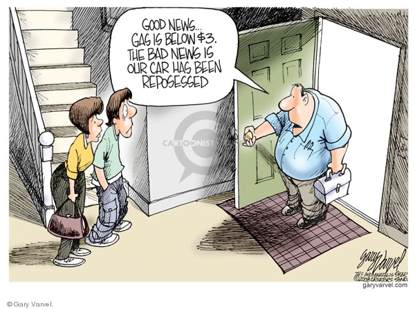 Cartoonist Gary Varvel  Gary Varvel's Editorial Cartoons 2008-10-13 personal finance