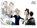 Cartoonist Gary Varvel  Gary Varvel's Editorial Cartoons 2009-01-20 king