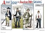 Cartoonist Gary Varvel  Gary Varvel's Editorial Cartoons 2009-02-25 two