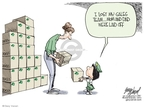 Cartoonist Gary Varvel  Gary Varvel's Editorial Cartoons 2009-02-26 family