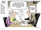 Cartoonist Gary Varvel  Gary Varvel's Editorial Cartoons 2009-03-02 401k