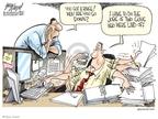 Cartoonist Gary Varvel  Gary Varvel's Editorial Cartoons 2009-03-04 two