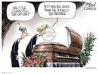 Cartoonist Gary Varvel  Gary Varvel's Editorial Cartoons 2009-04-03 death dying
